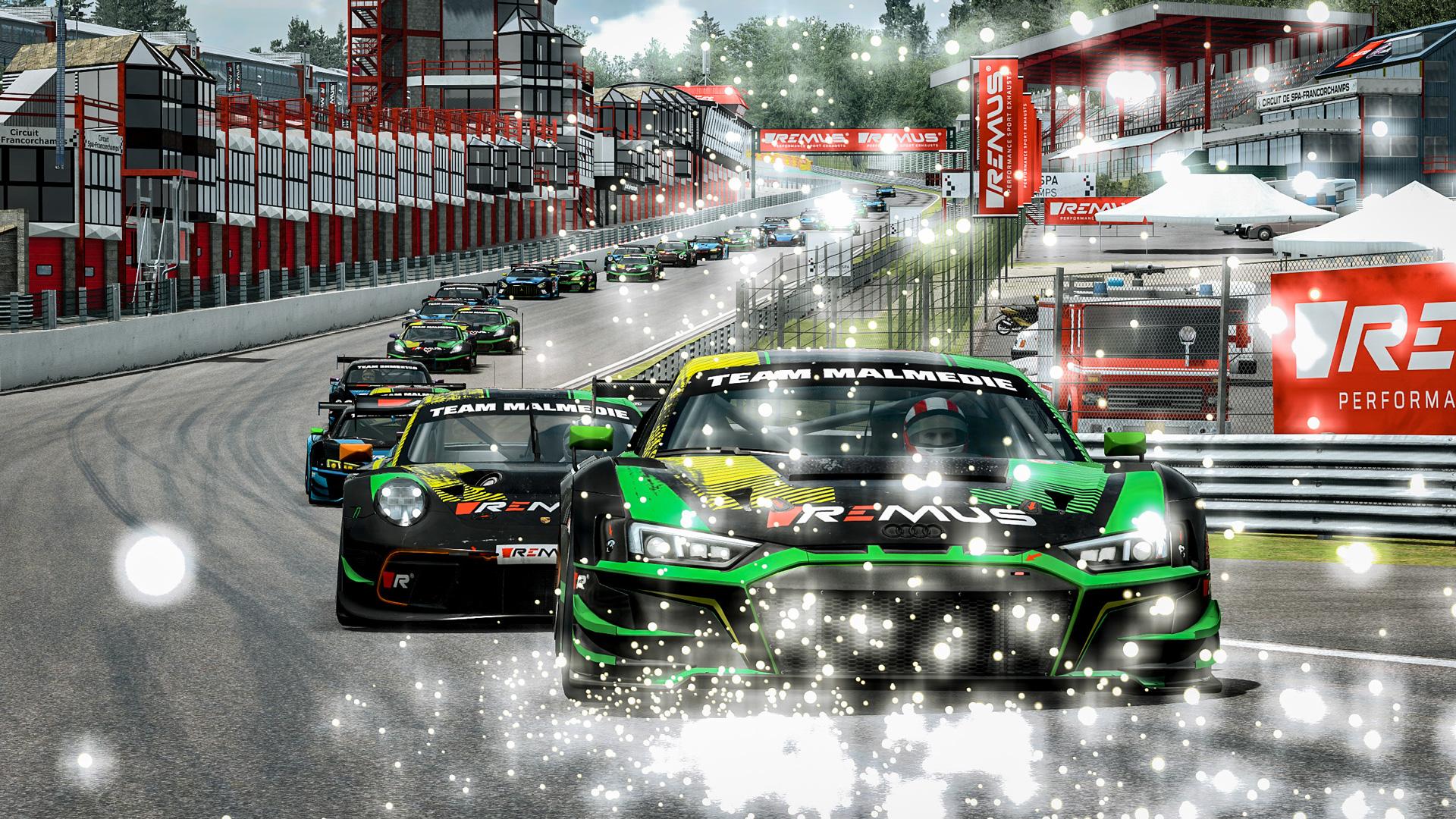 REMUS GT3 Meisterschaft Spa